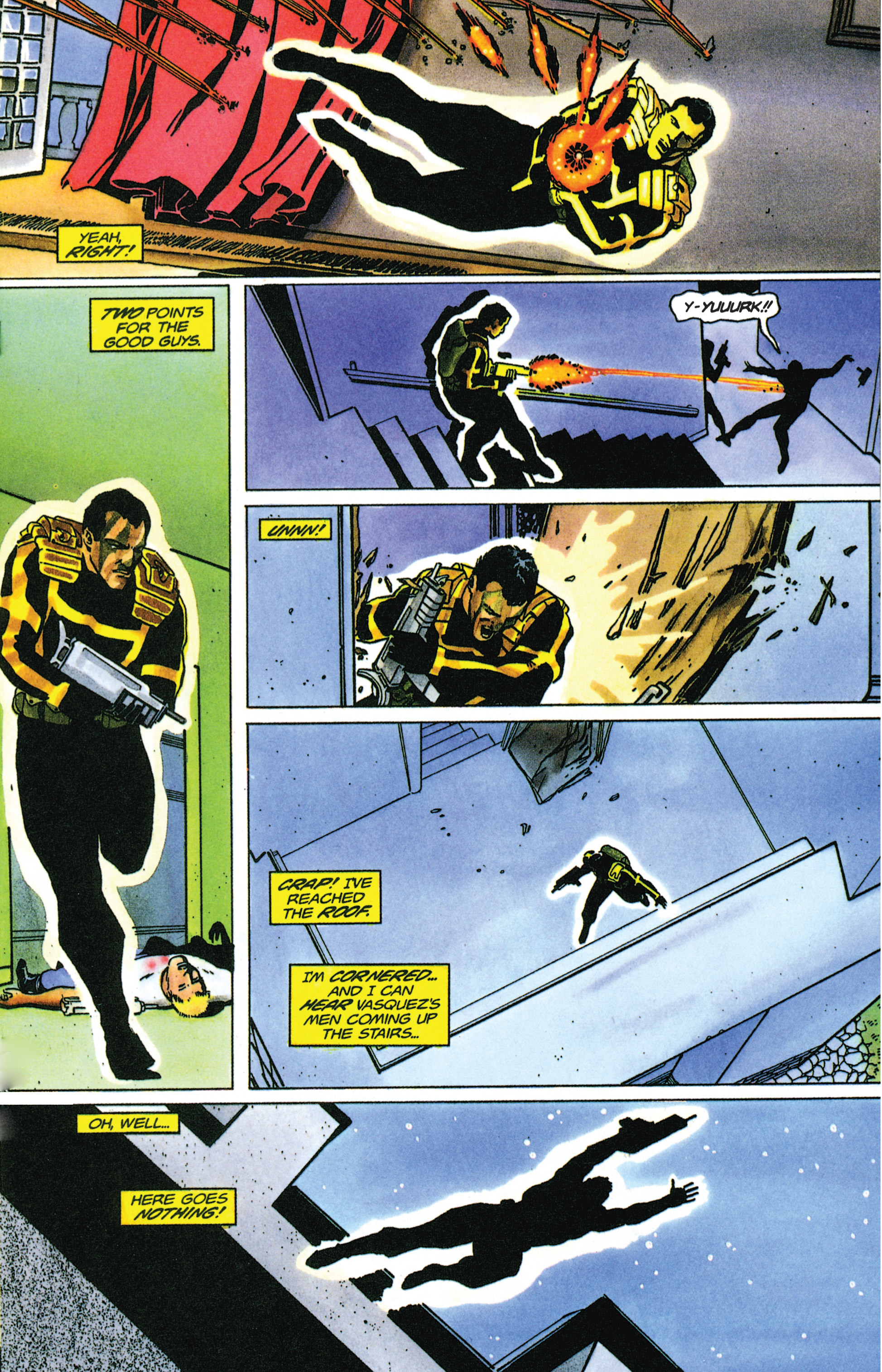 Read online Armorines comic -  Issue #9 - 14