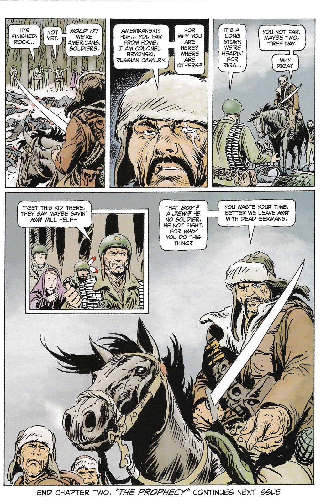 Read online Sgt. Rock: The Prophecy comic -  Issue #2 - 23