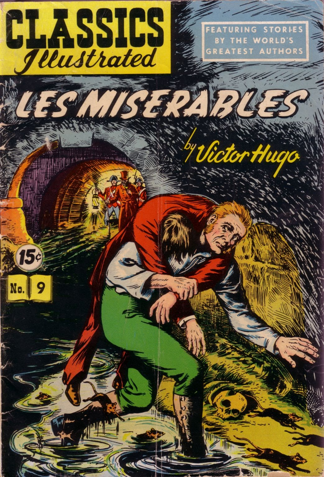 Classics Illustrated issue 9 - Page 1
