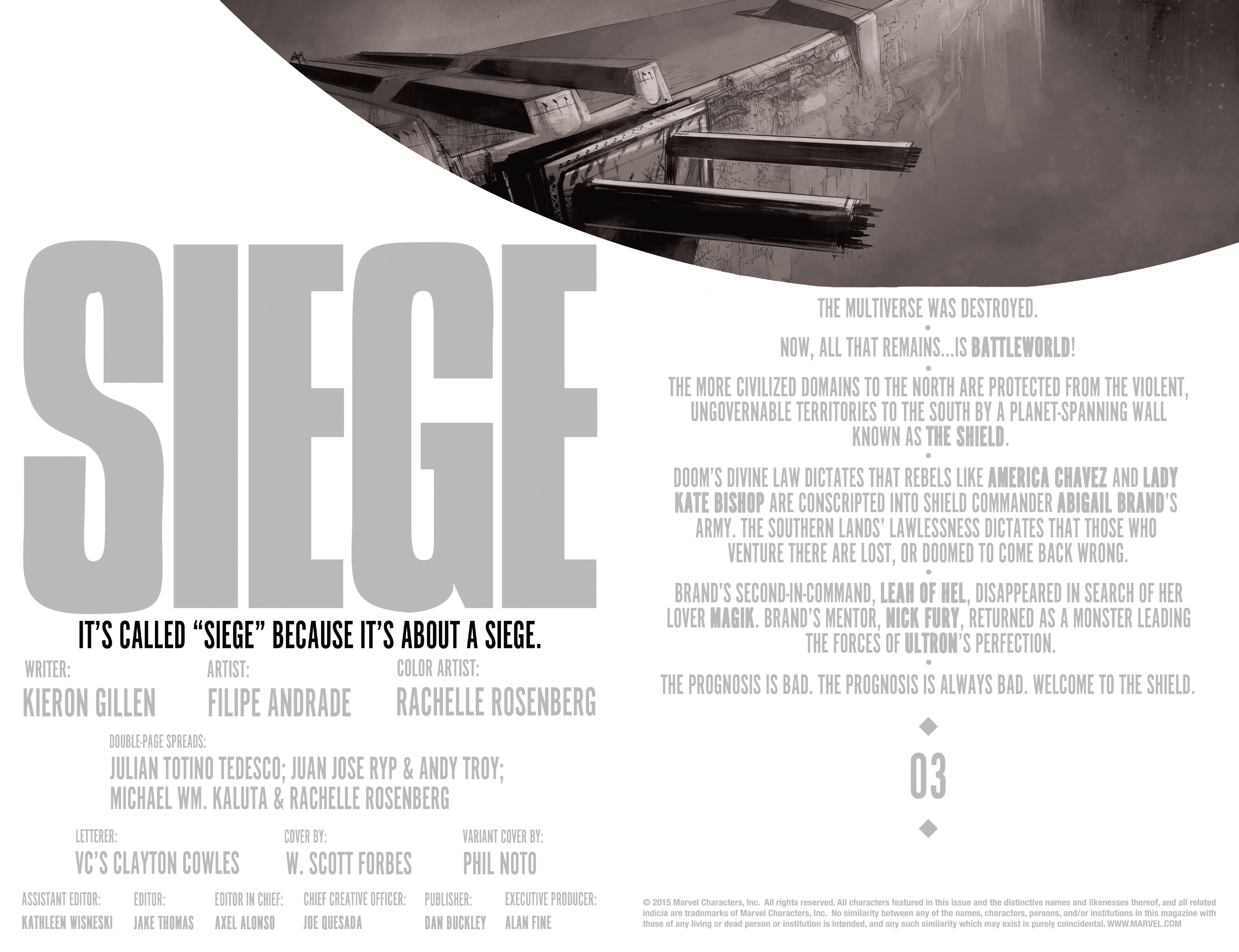 Read online Siege (2015) comic -  Issue #3 - 3