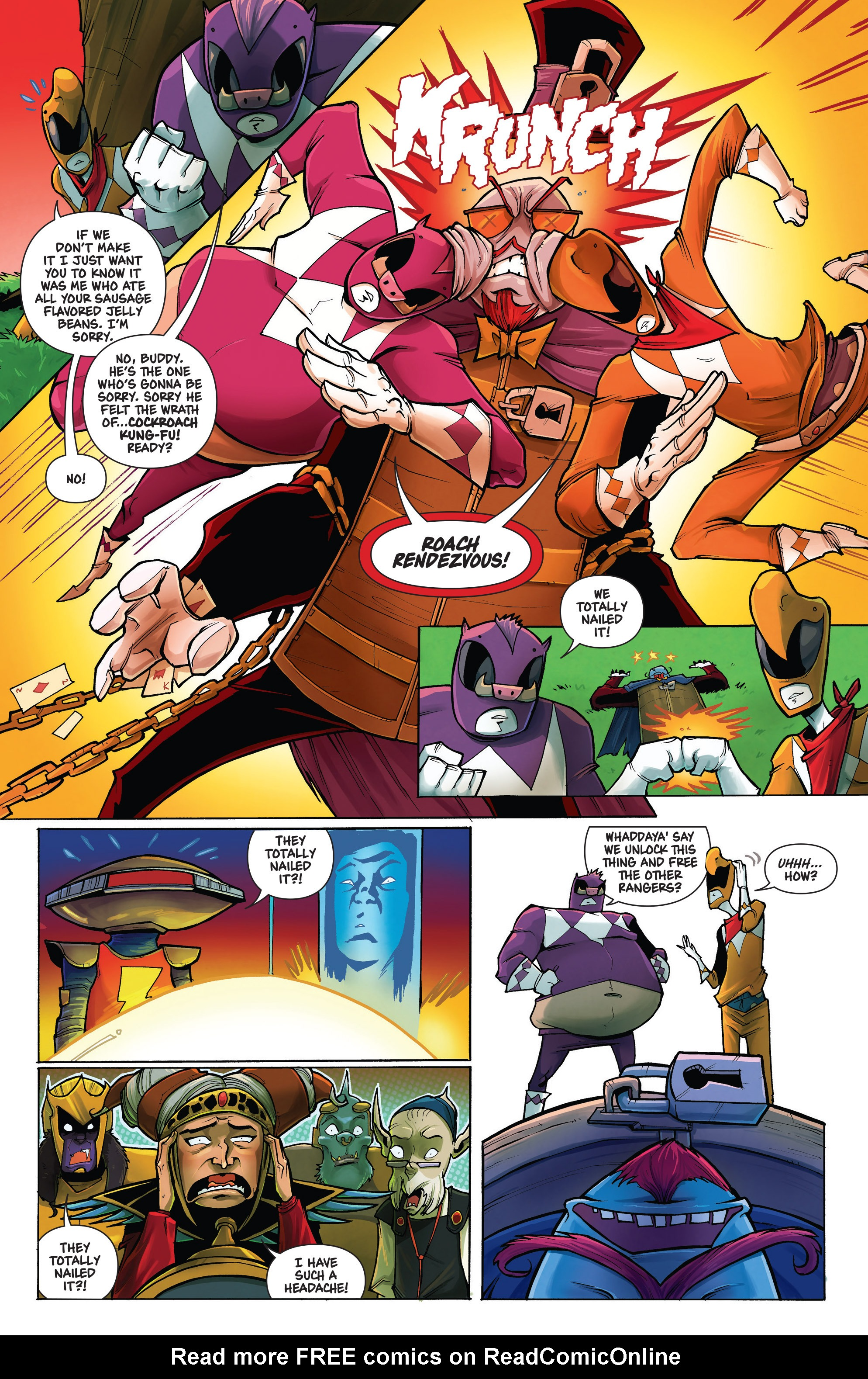 Read online Mighty Morphin Power Rangers comic -  Issue # _Annual 1 - 15