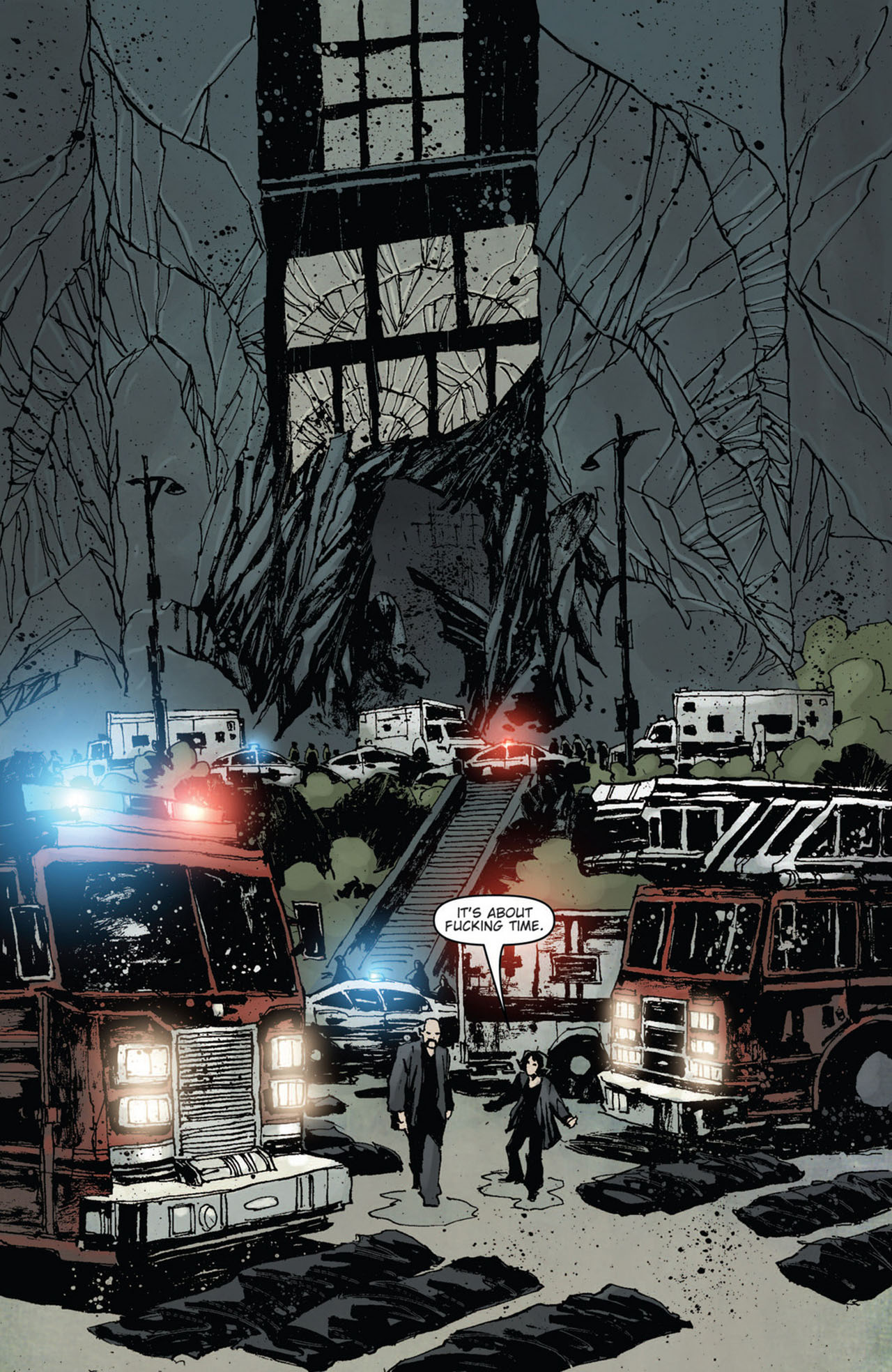 Read online 30 Days of Night (2011) comic -  Issue #10 - 10