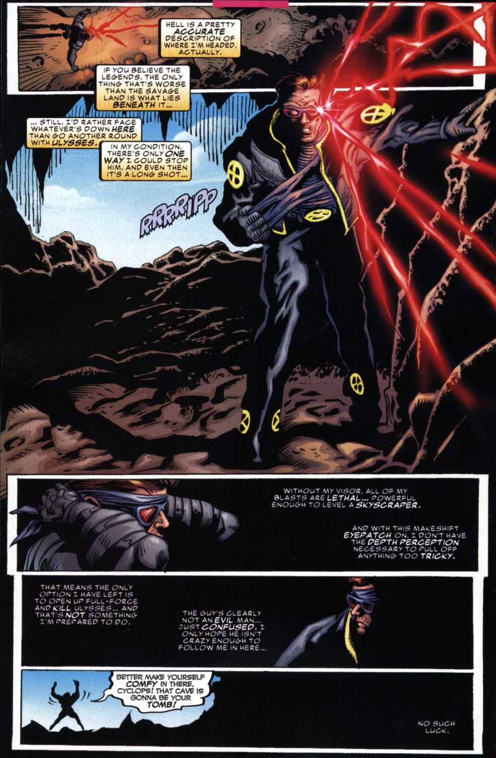 Read online Cyclops (2001) comic -  Issue #2 - 21