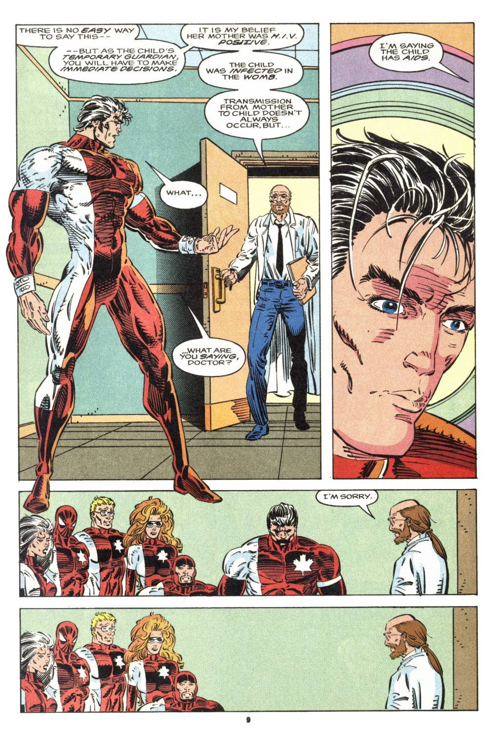 Read online Alpha Flight (1983) comic -  Issue #106 - 8