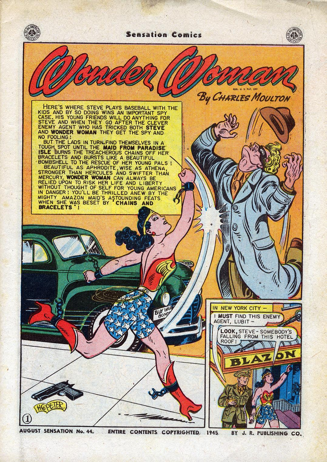 Read online Sensation (Mystery) Comics comic -  Issue #44 - 3