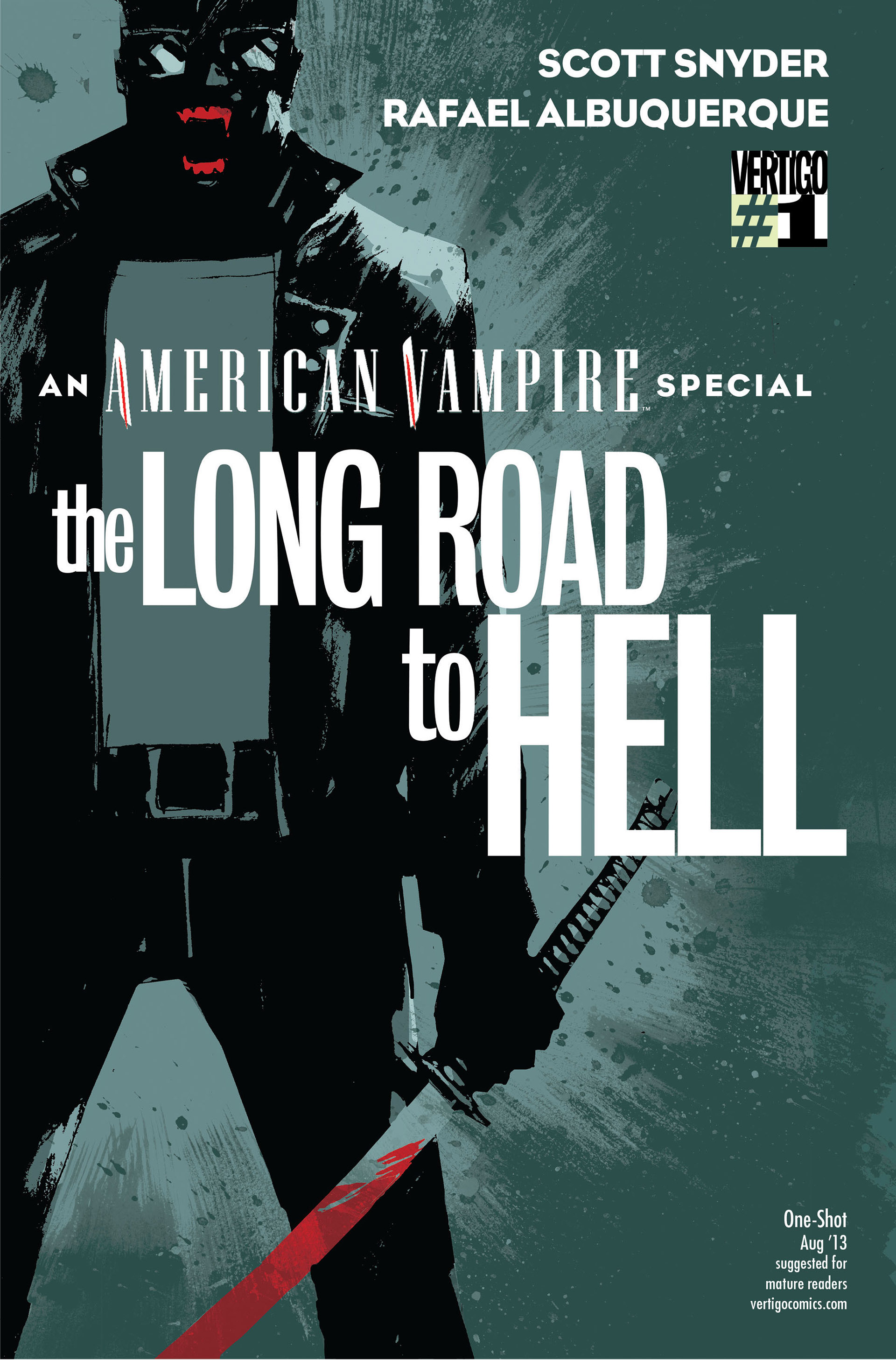 Read online American Vampire: The Long Road To Hell comic -  Issue # Full - 1