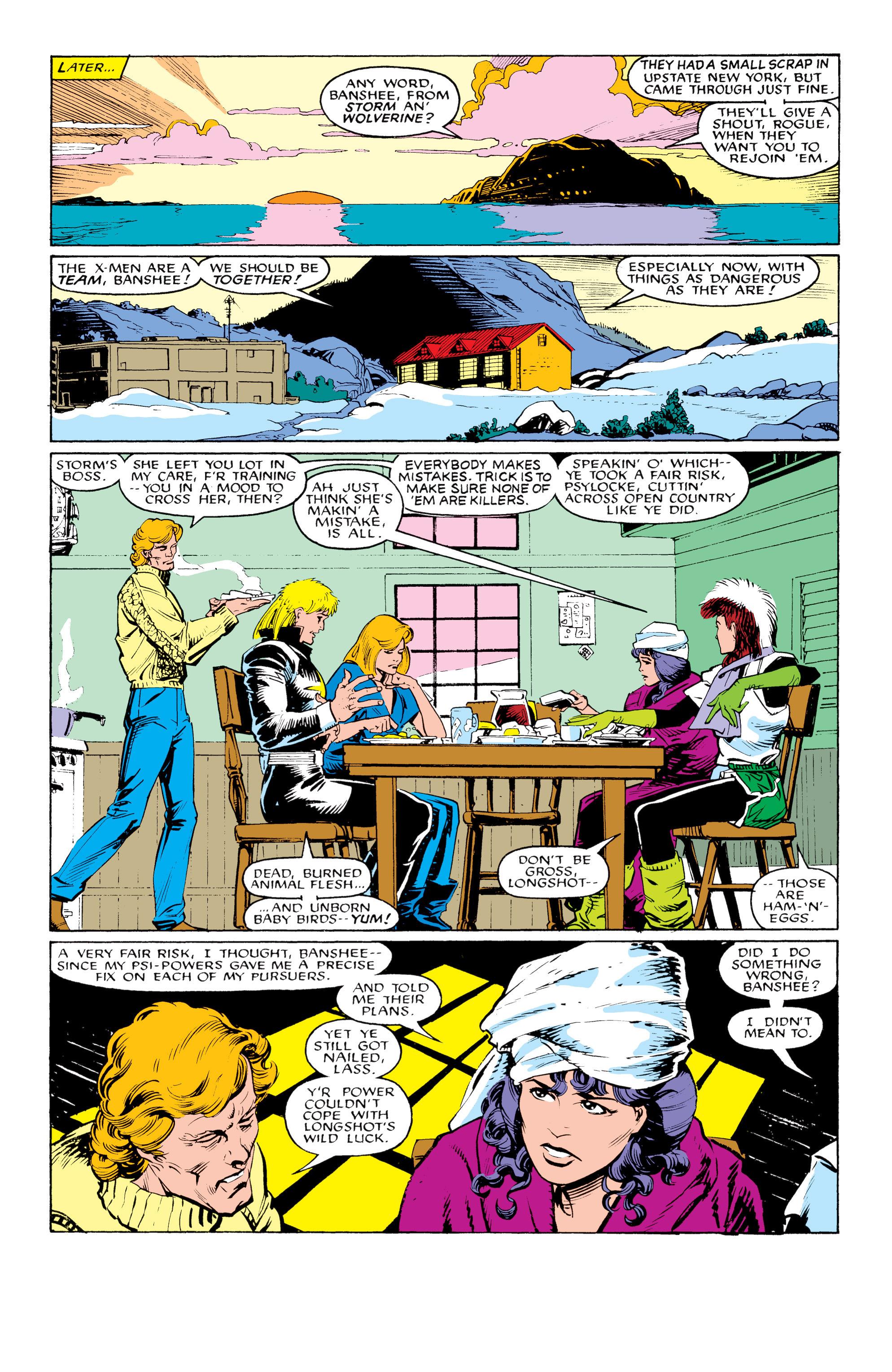 Read online Uncanny X-Men (1963) comic -  Issue #217 - 8