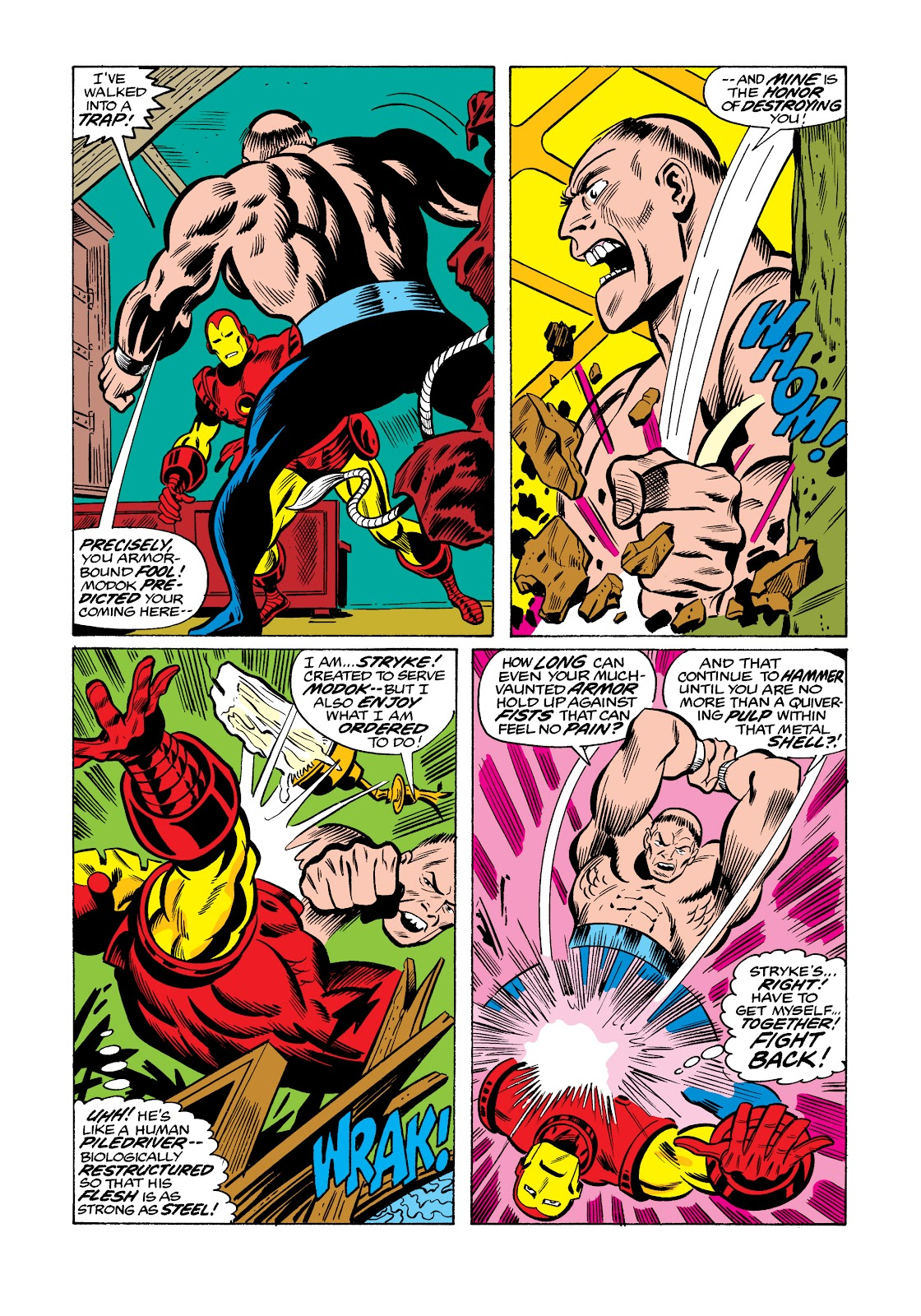 Read online Marvel Masterworks: The Invincible Iron Man comic -  Issue # TPB 11 (Part 3) - 104