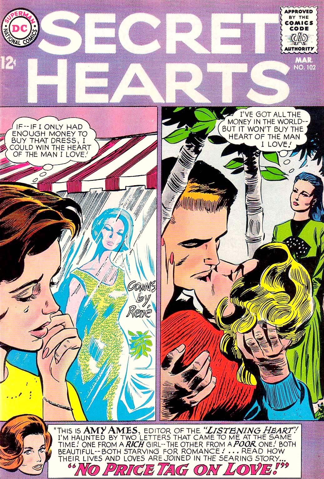 Read online Secret Hearts comic -  Issue #102 - 1