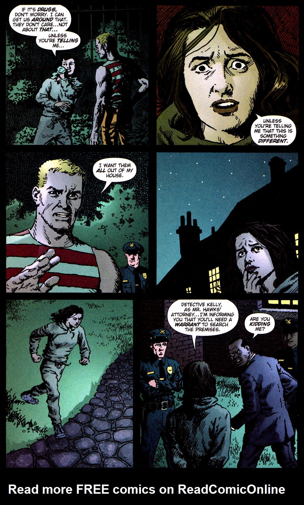 Read online Caper comic -  Issue #5 - 22