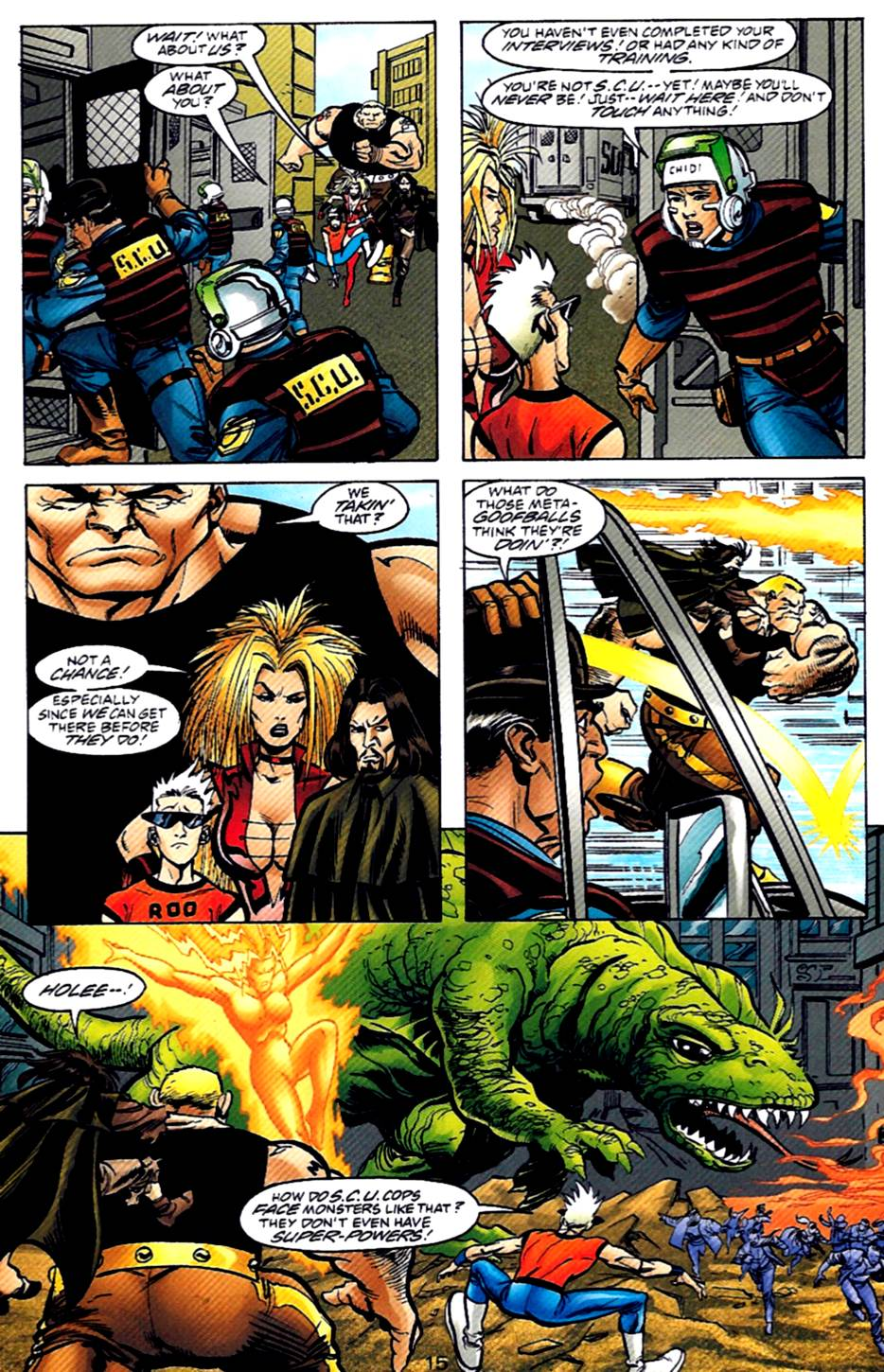 Read online Adventures of Superman (1987) comic -  Issue #569 - 16