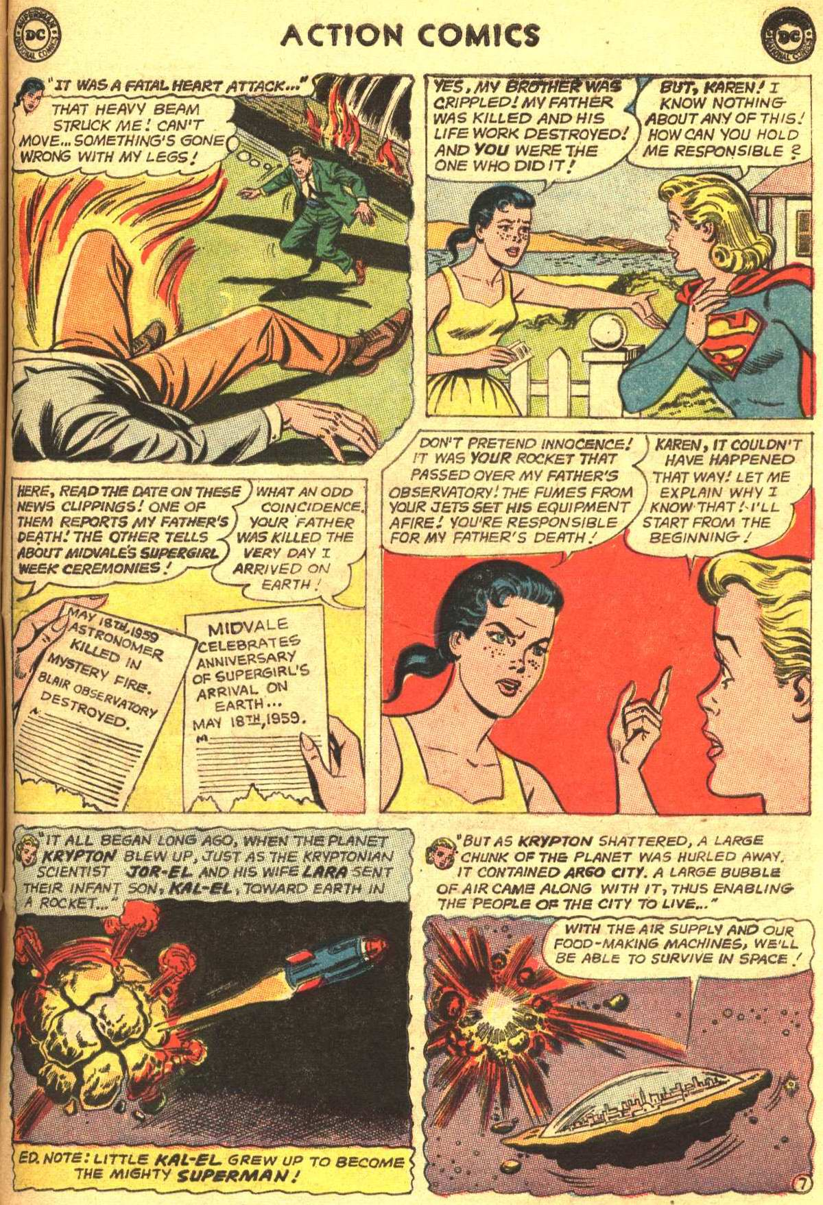 Read online Action Comics (1938) comic -  Issue #305 - 27