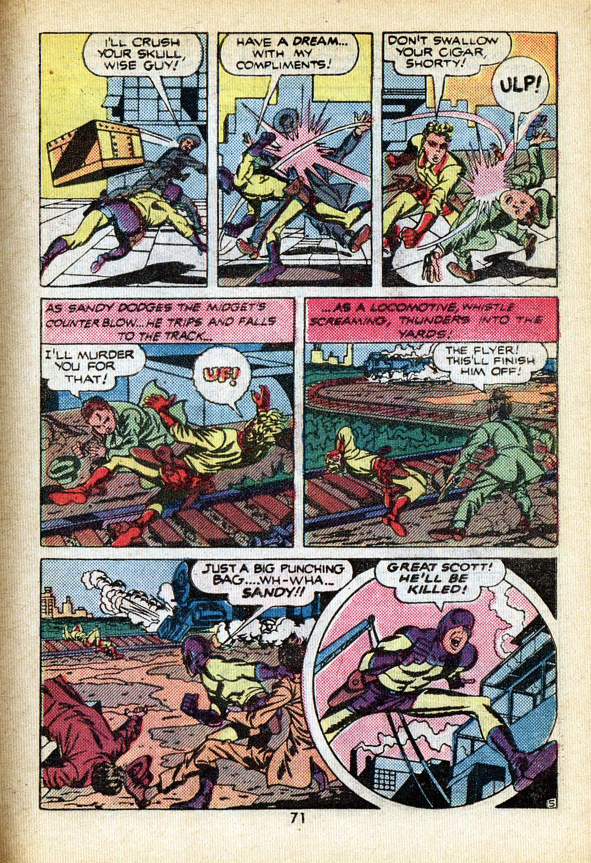 Read online Adventure Comics (1938) comic -  Issue #495 - 71