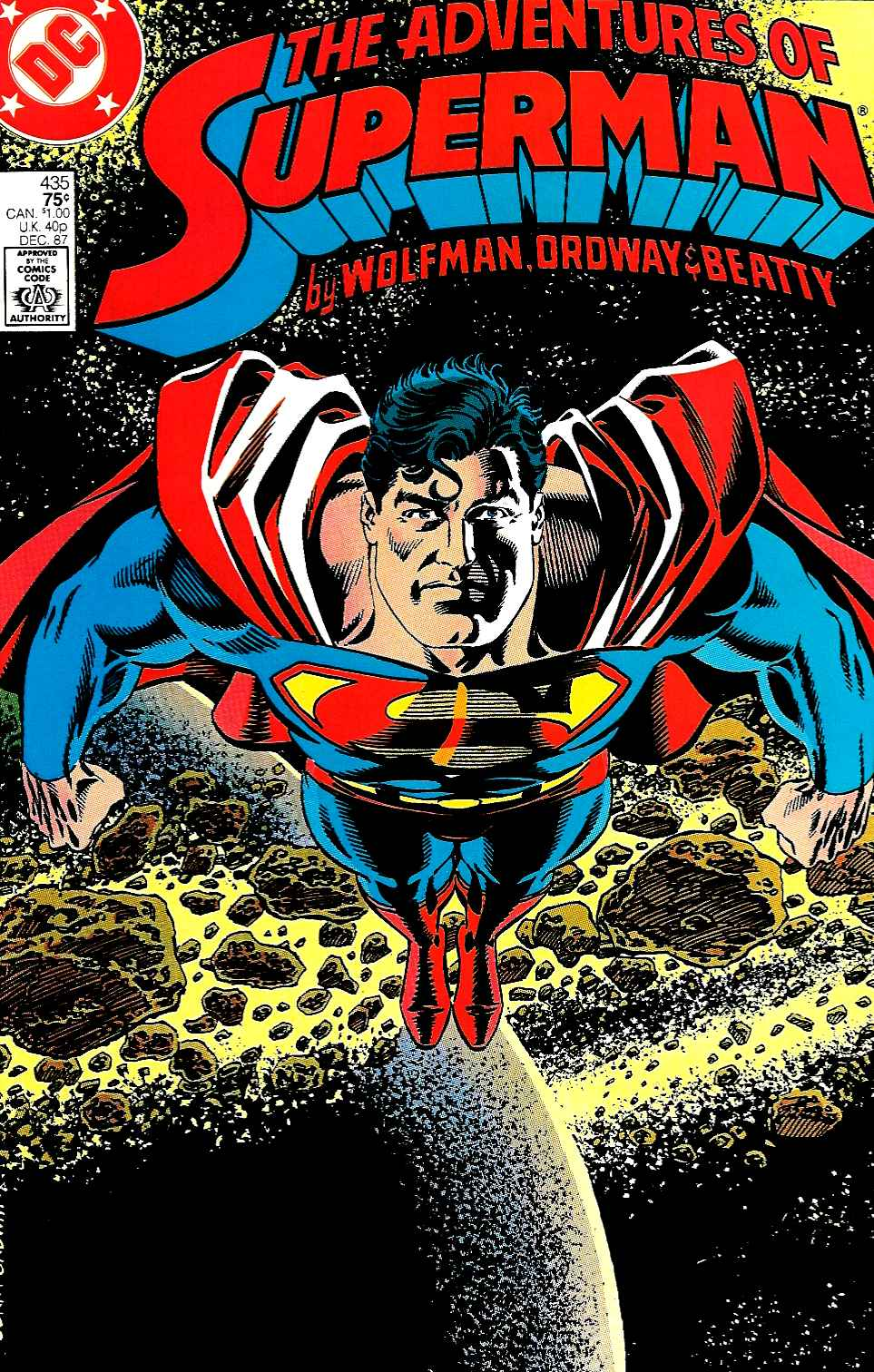 Read online Adventures of Superman (1987) comic -  Issue #435 - 1