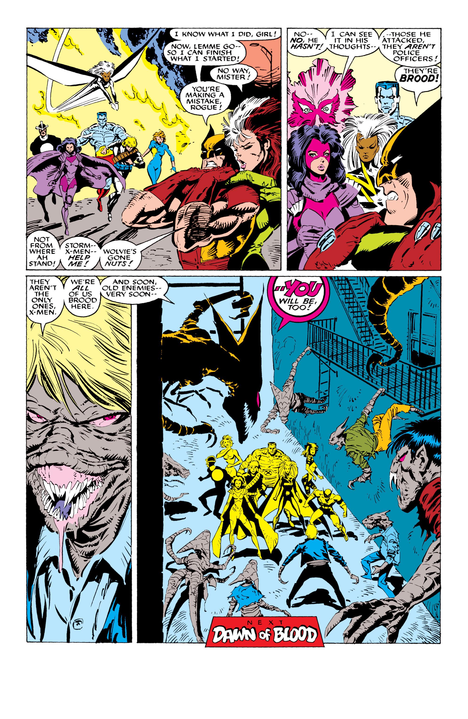 Read online Uncanny X-Men (1963) comic -  Issue #232 - 23