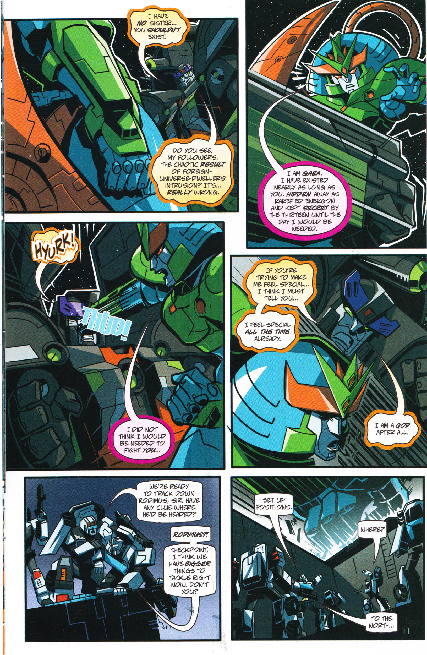 Read online Transformers: Collectors' Club comic -  Issue #66 - 11