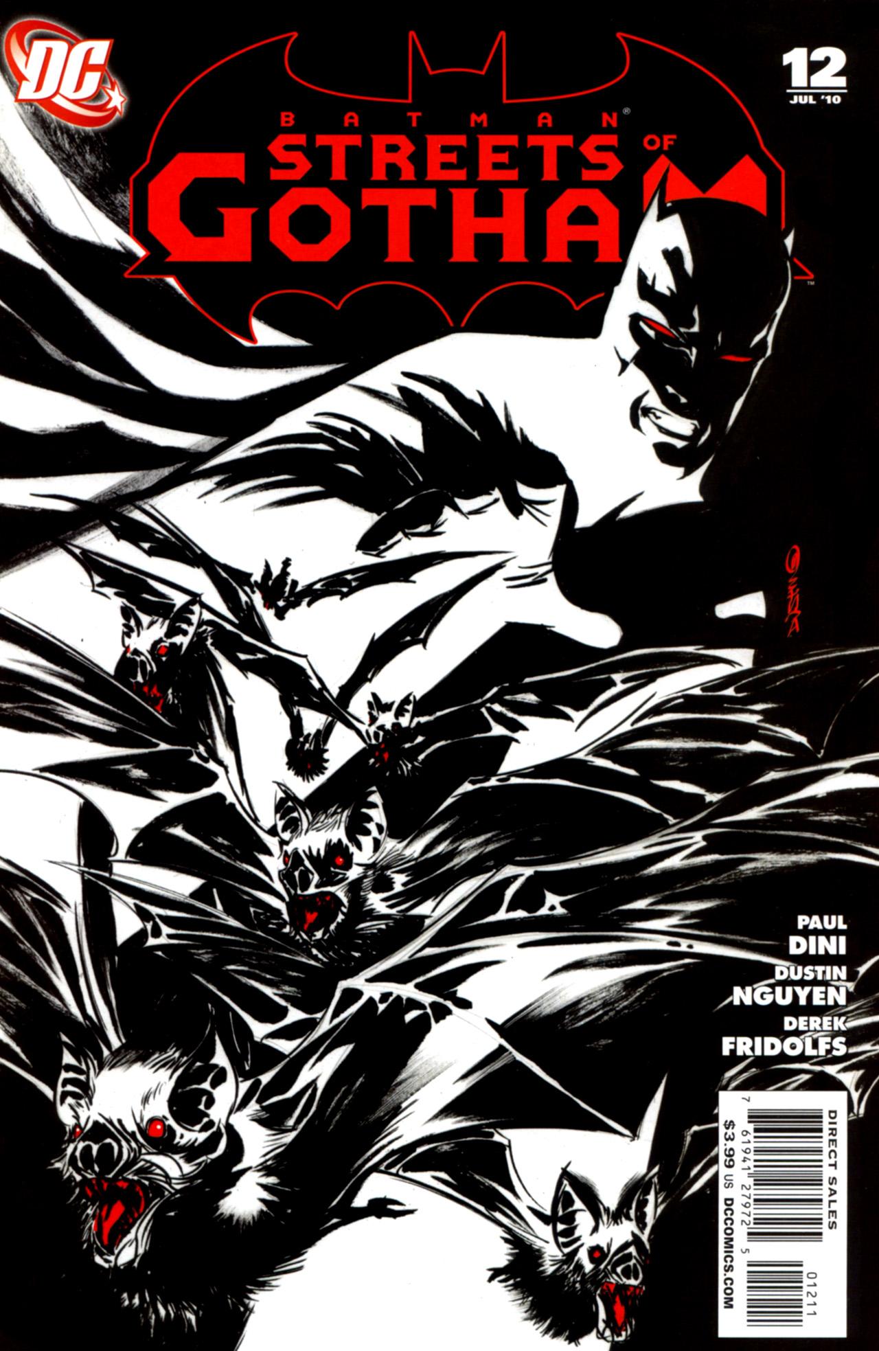 Batman: Streets Of Gotham 12 Page 1