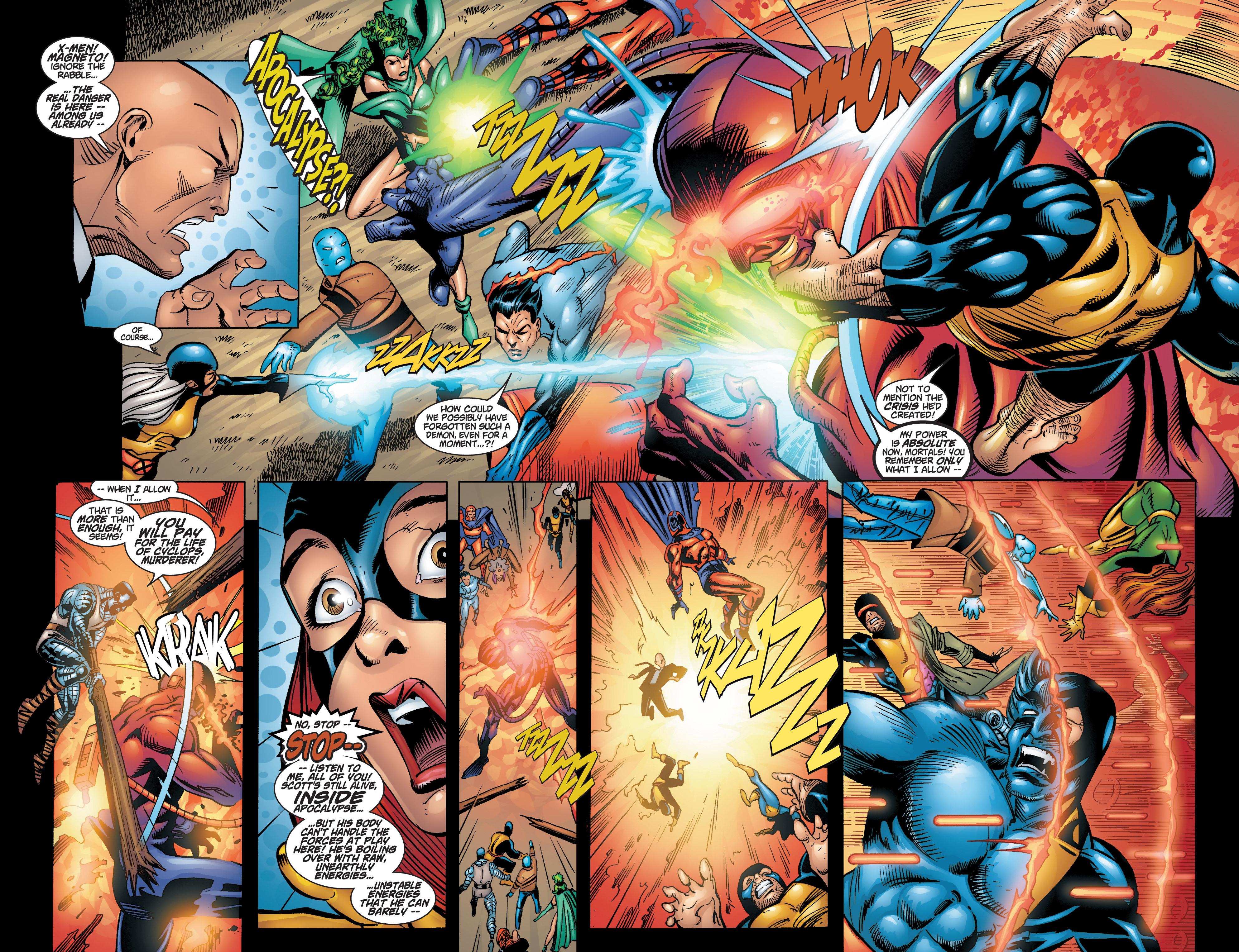 Read online Uncanny X-Men (1963) comic -  Issue #378 - 19