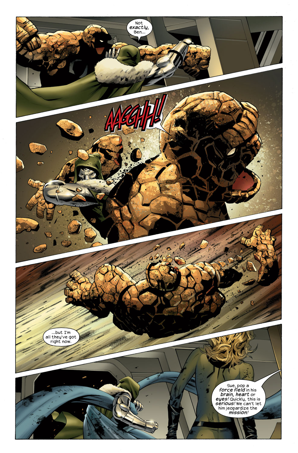 Read online Ultimate Fantastic Four (2004) comic -  Issue #32 - 15