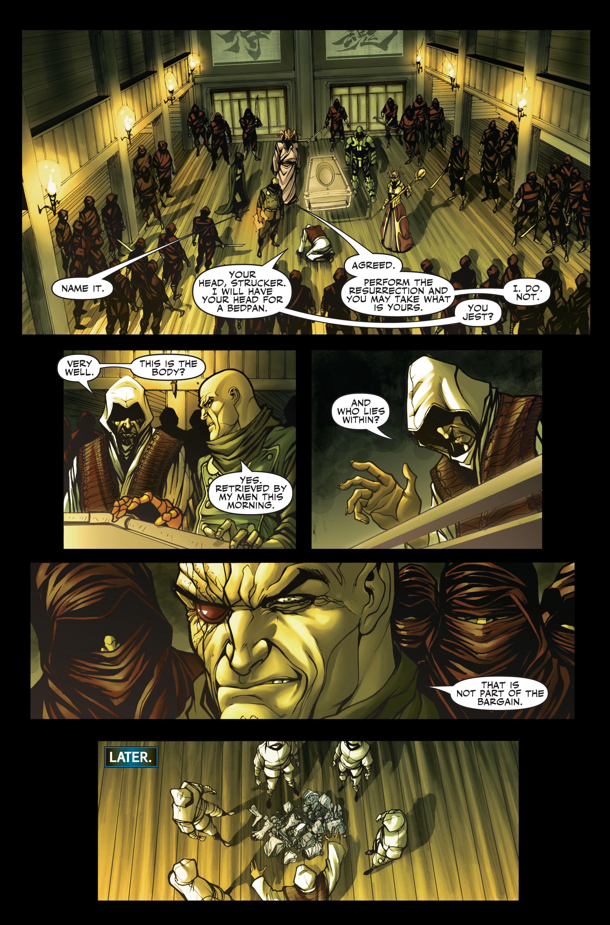 Read online Secret Warriors comic -  Issue #2 - 22