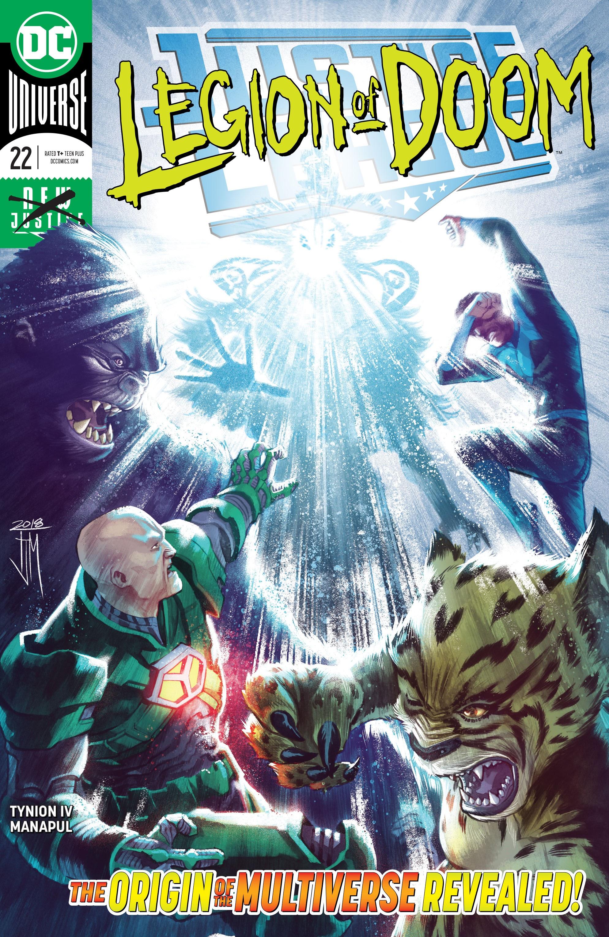 Justice League (2018) 22 Page 1