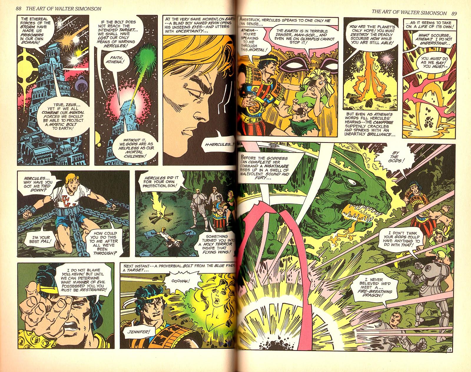 Read online The Art of Walter Simonson comic -  Issue # TPB - 46