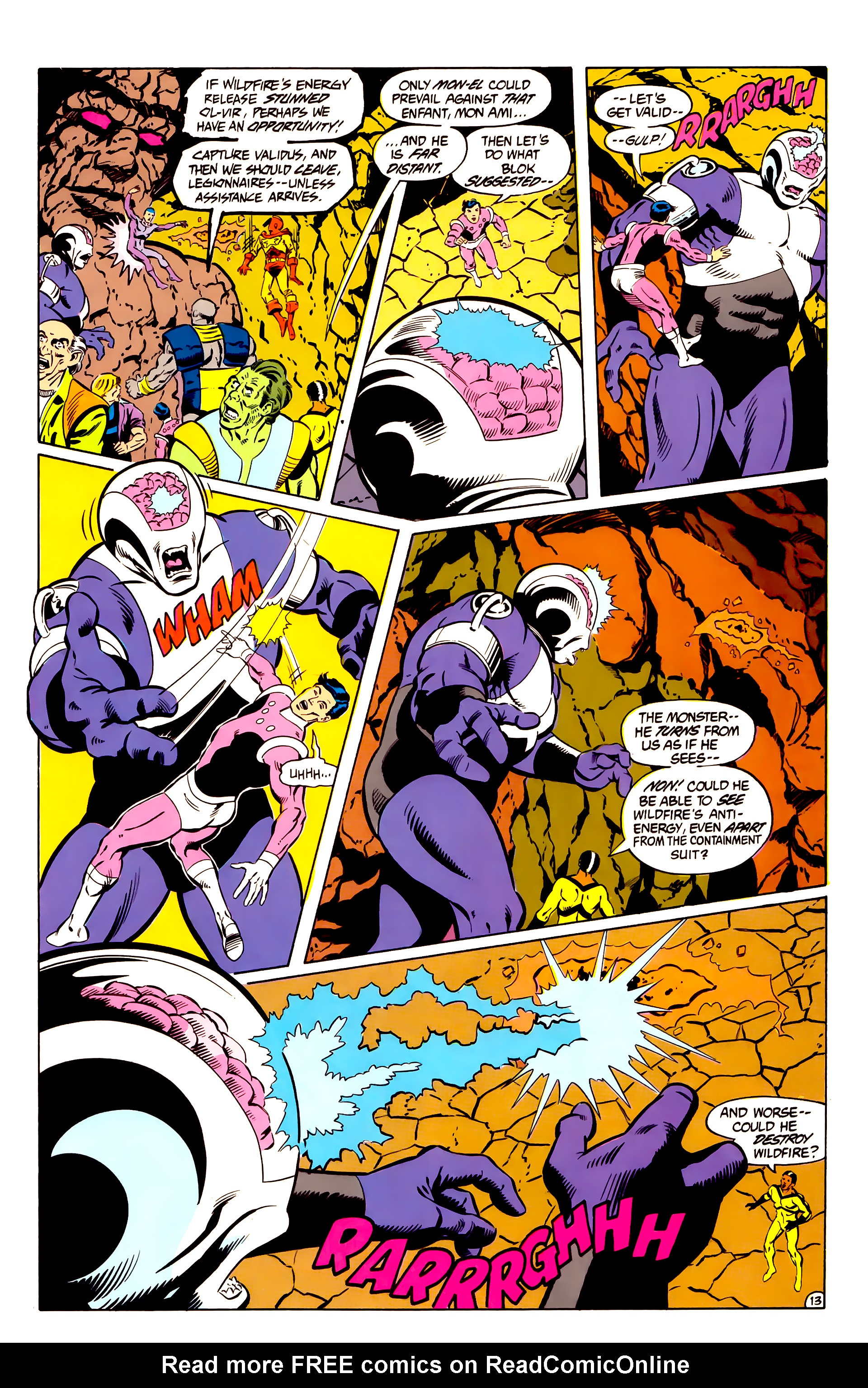 Legion of Super-Heroes (1984) _Annual_2 Page 14