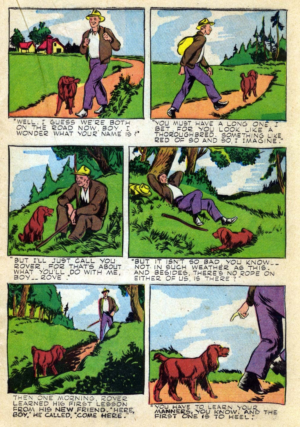 Read online Animal Comics comic -  Issue #22 - 25