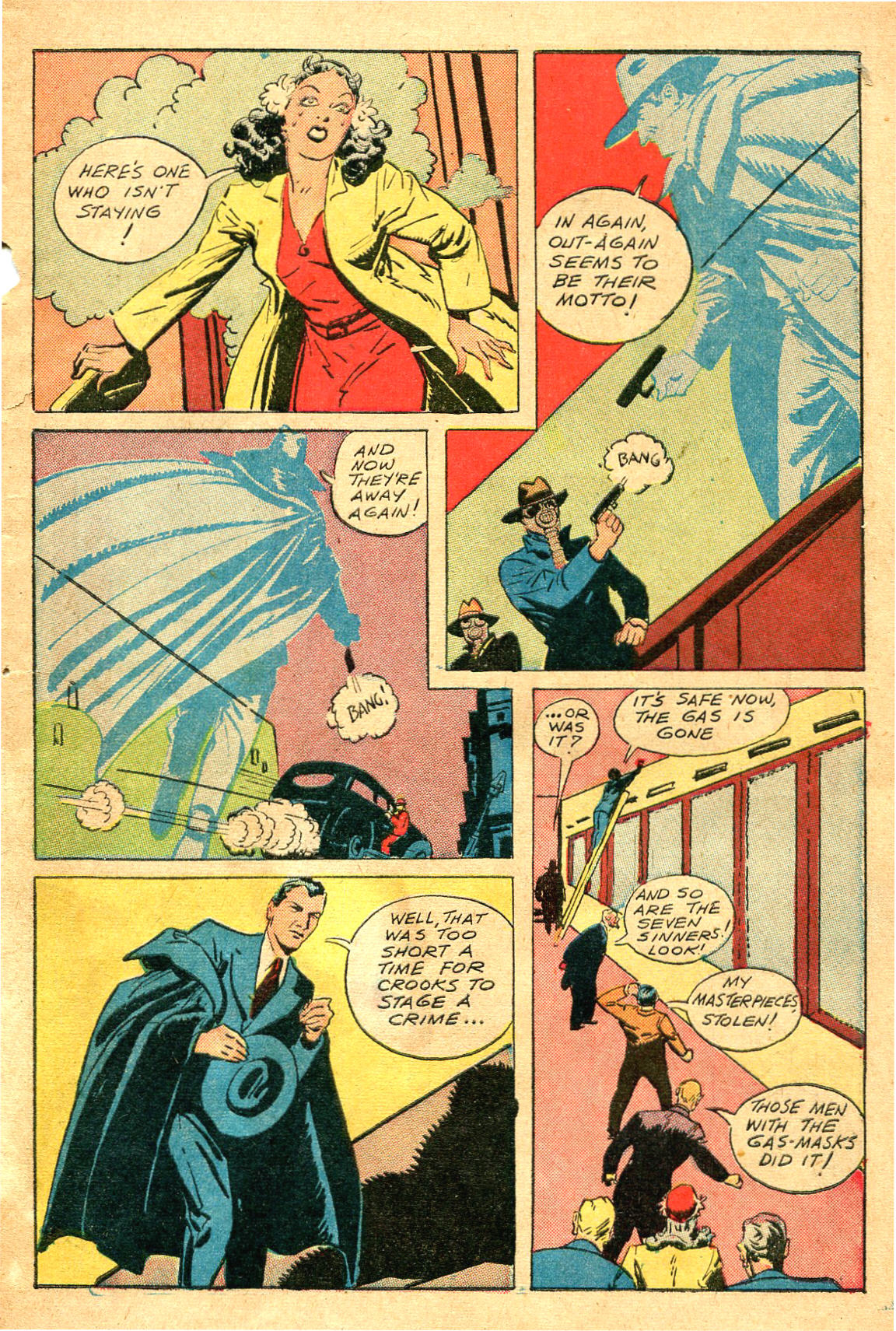 Read online Shadow Comics comic -  Issue #47 - 8