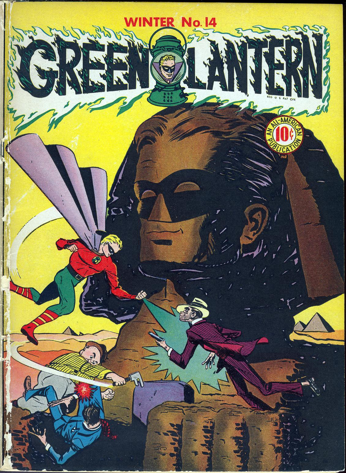 Green Lantern (1941) 14 Page 1