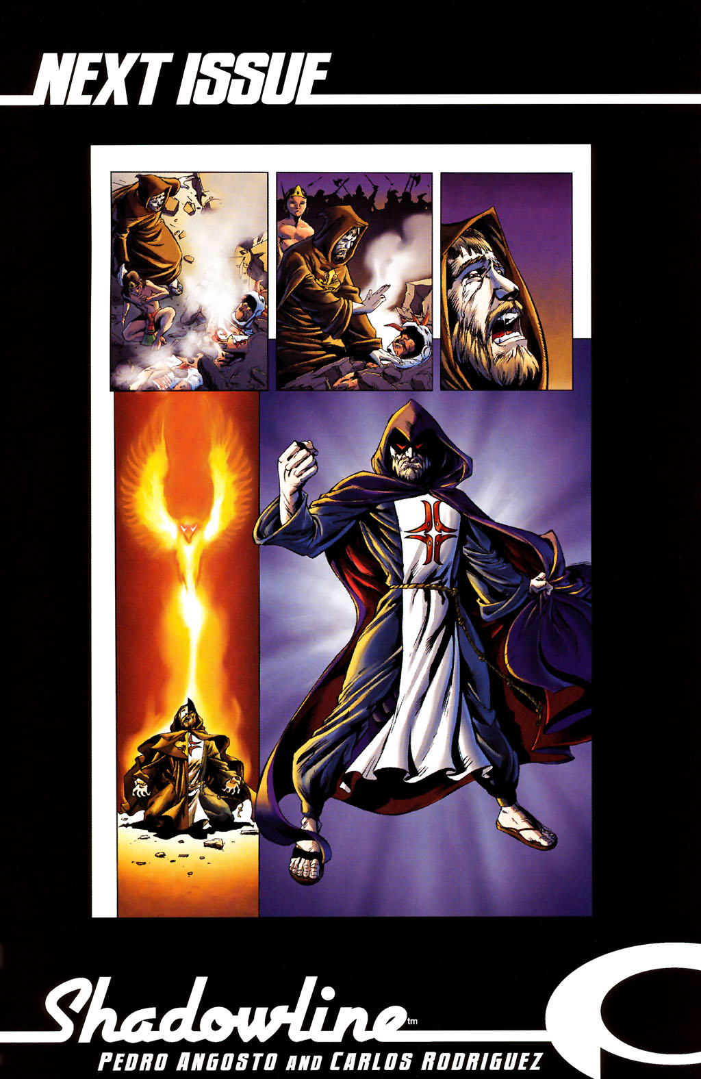 Read online ShadowHawk (2005) comic -  Issue #12 - 27