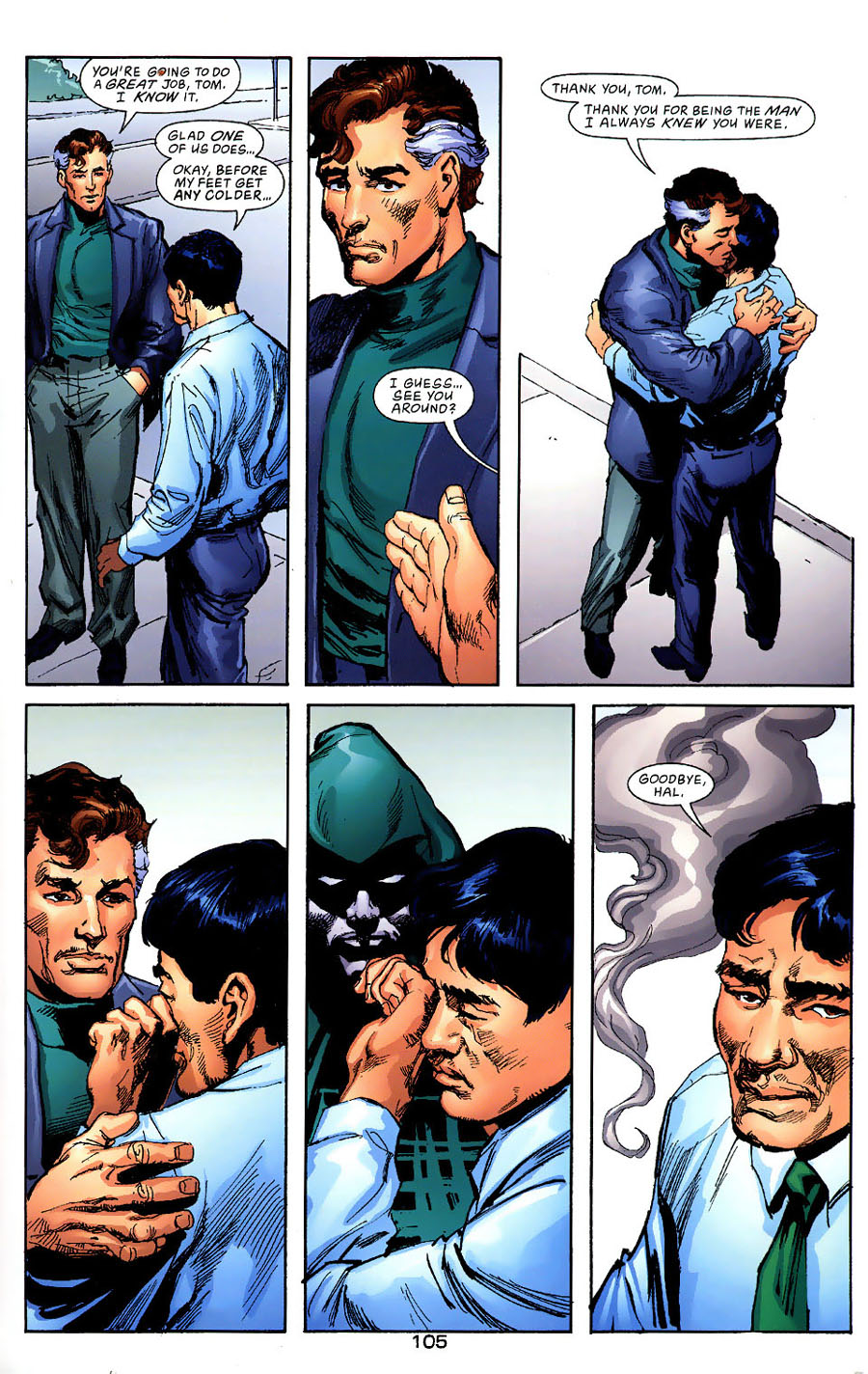 Read online Green Lantern: Legacy: The Last Will and Testament of Hal Jordan comic -  Issue # TPB - 113