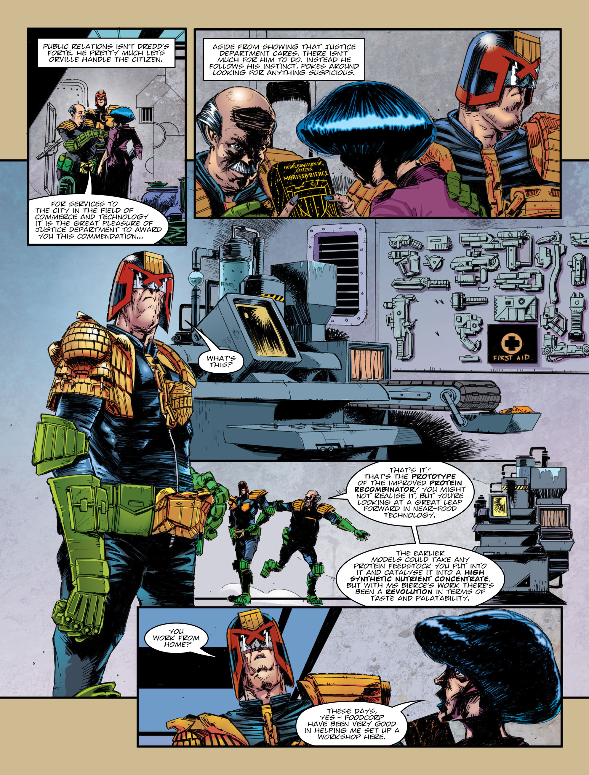 Read online 2000 AD comic -  Issue #2007 - 7