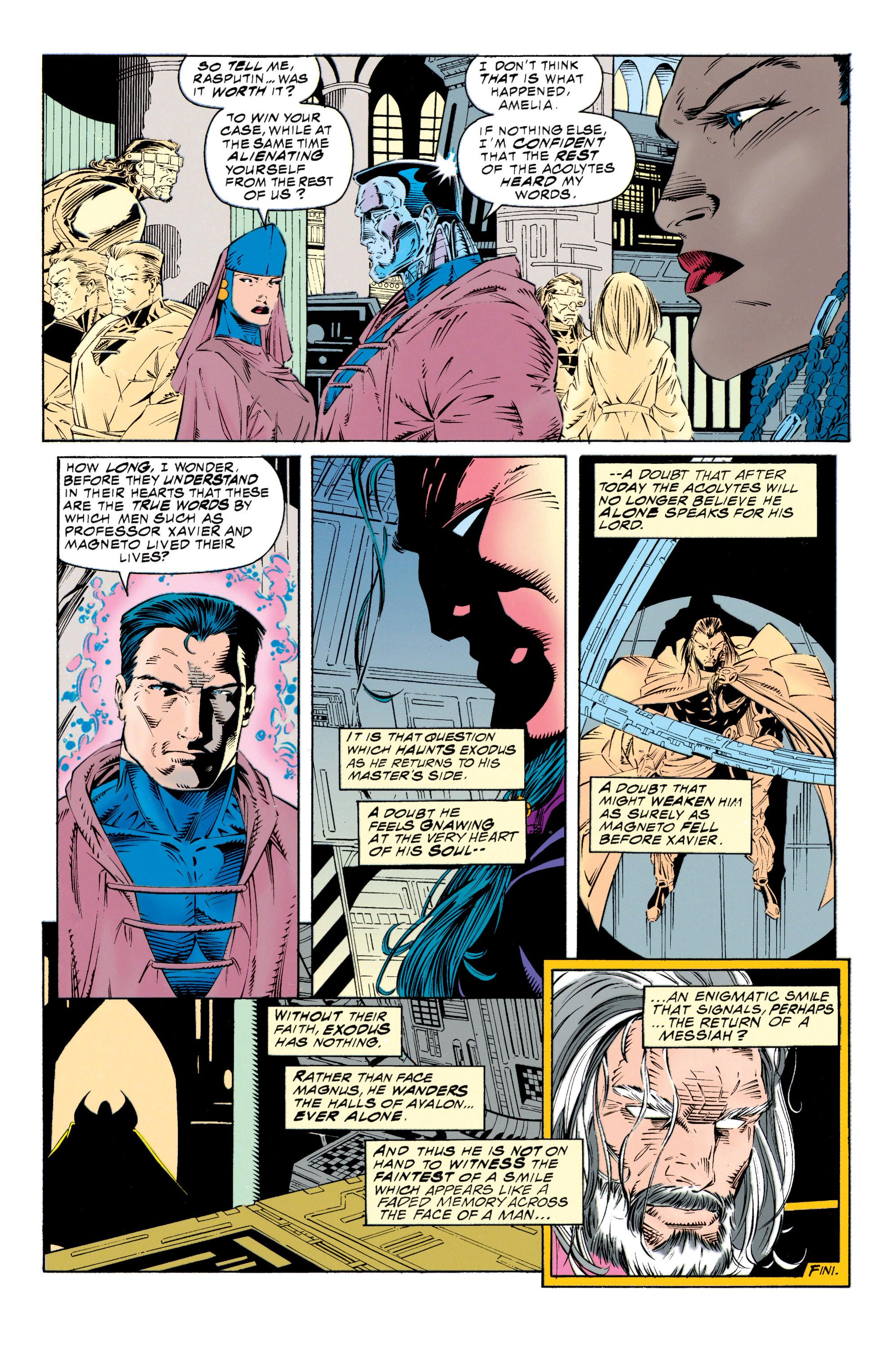 Read online Uncanny X-Men (1963) comic -  Issue #315 - 22