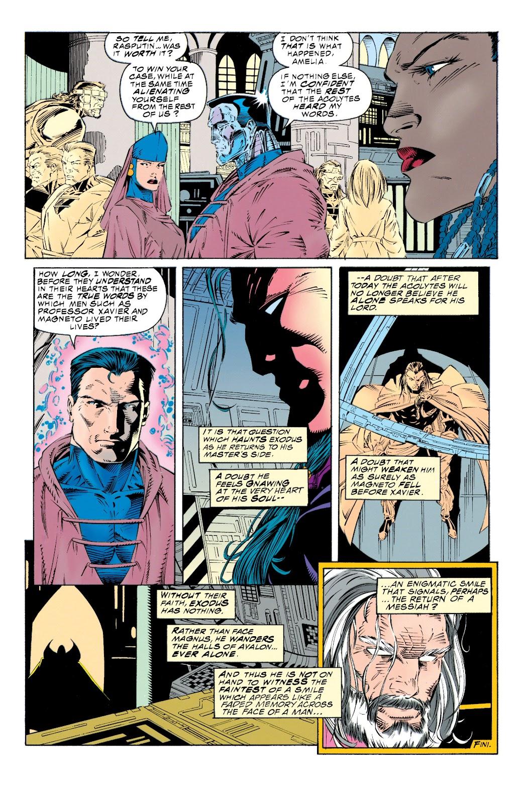 Uncanny X-Men (1963) issue 315 - Page 22