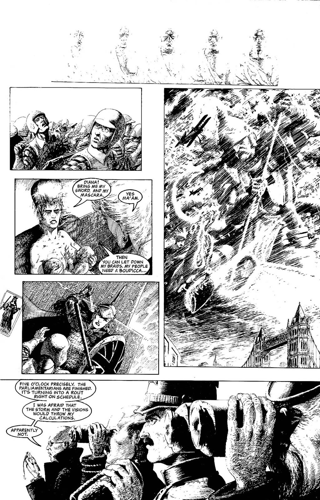 Read online The Adventures of Luther Arkwright comic -  Issue #8 - 27