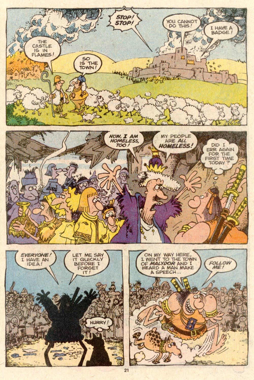 Read online Sergio Aragonés Groo the Wanderer comic -  Issue #60 - 23