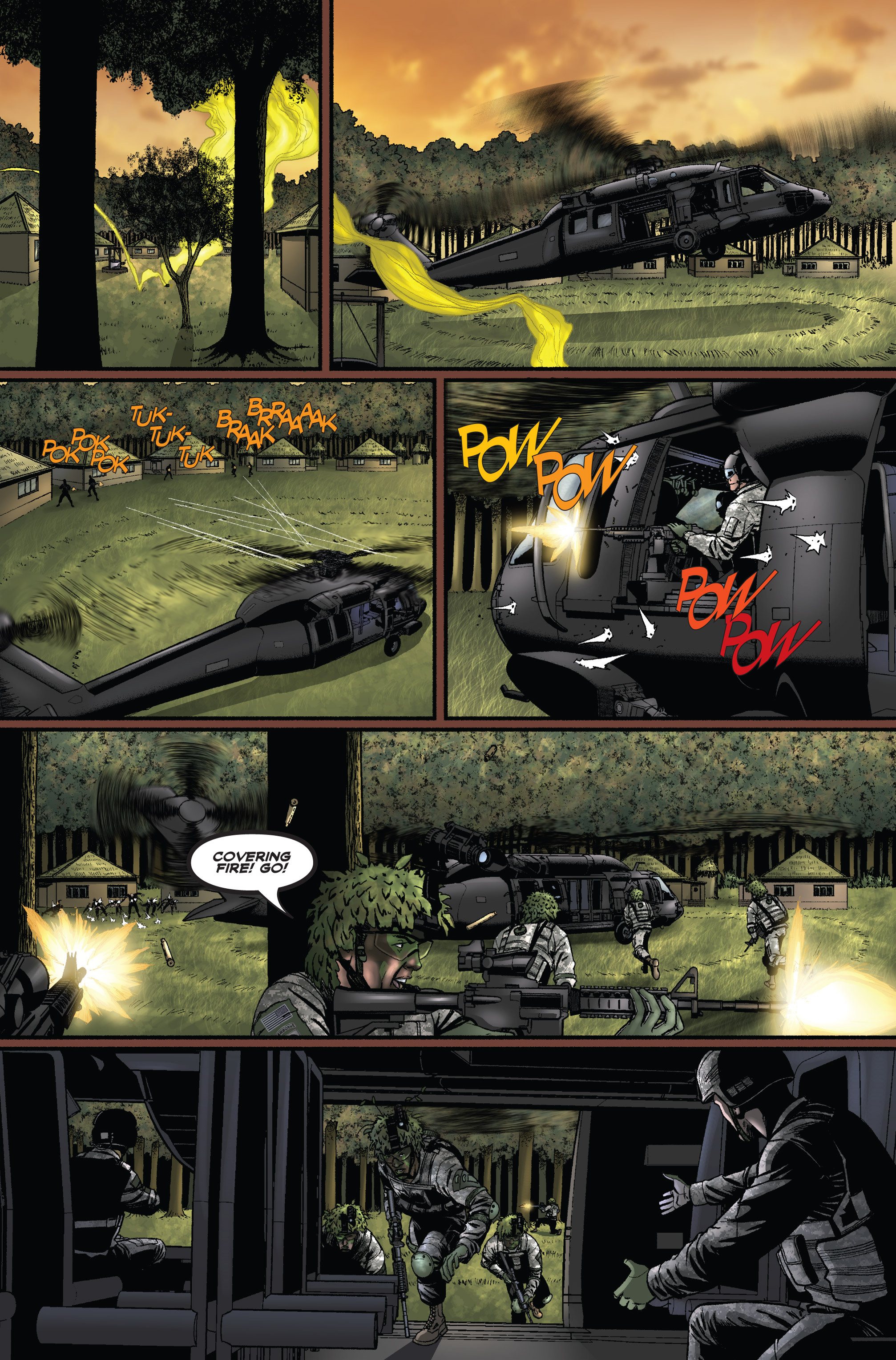 Read online America's Army comic -  Issue #1 - 21