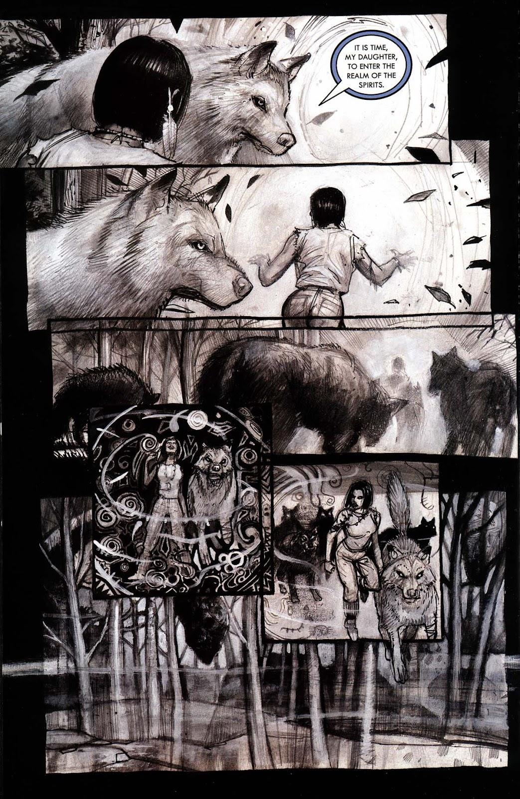 Read online Werewolf the Apocalypse comic -  Issue # Black Furies - 42