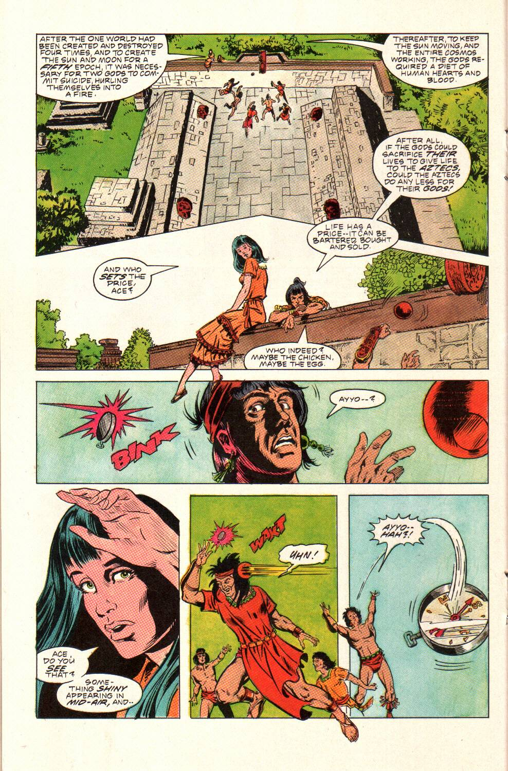Read online Aztec Ace comic -  Issue #9 - 20