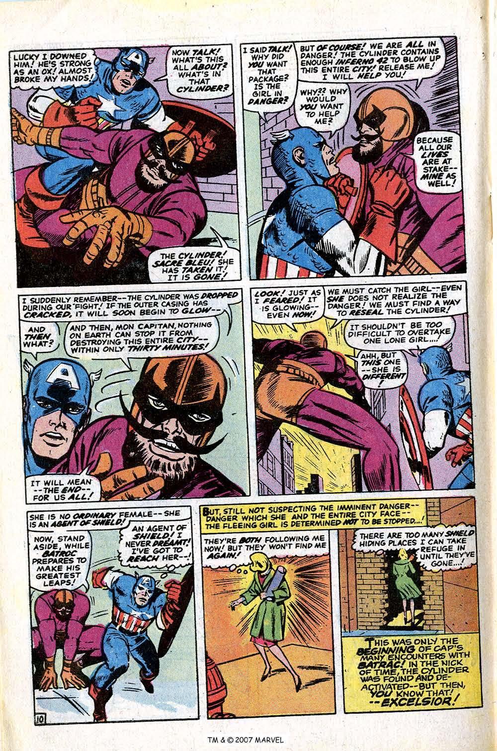Read online Captain America (1968) comic -  Issue # _Annual 1 - 64
