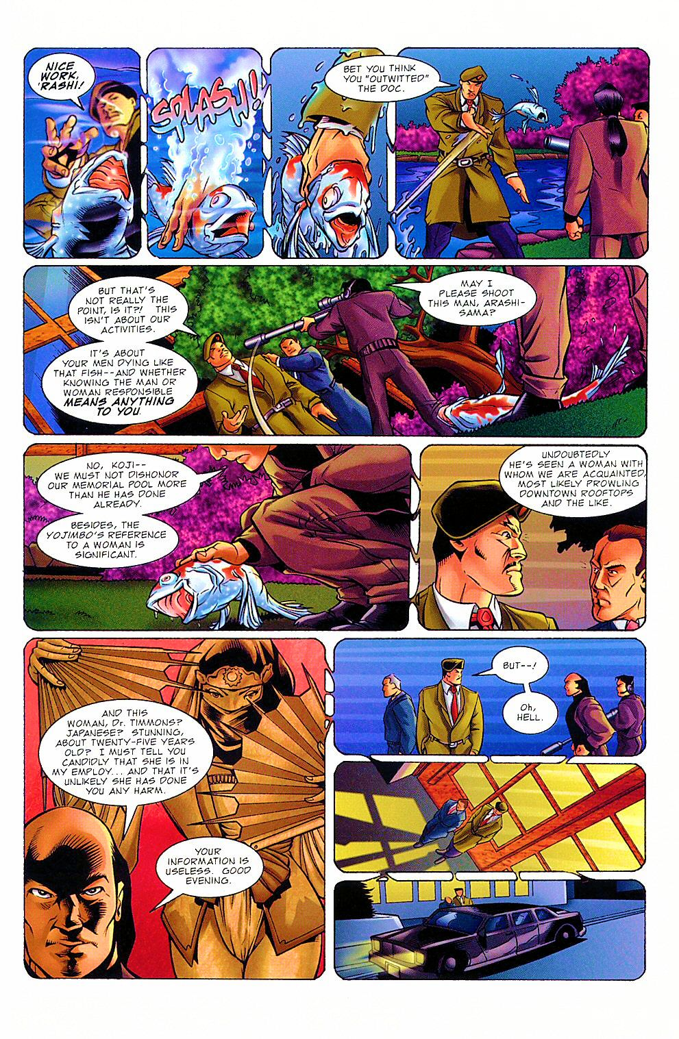 Read online Shi: The Way of the Warrior comic -  Issue #8 - 13