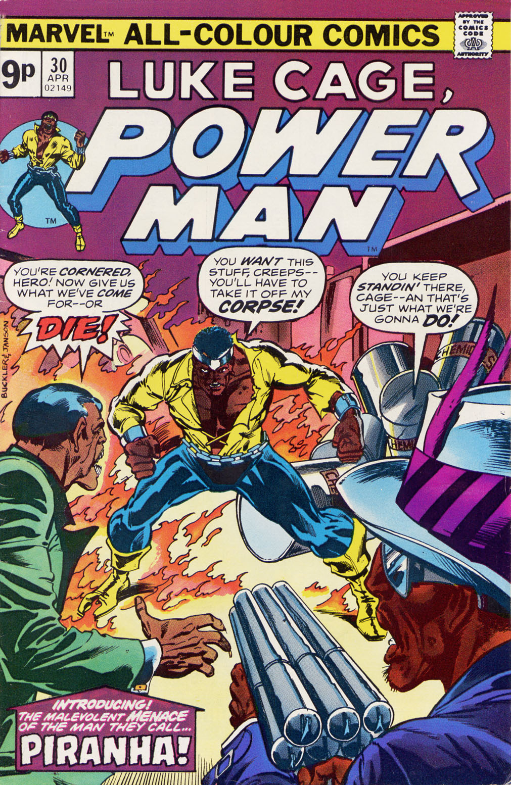 Power Man issue 30 - Page 1