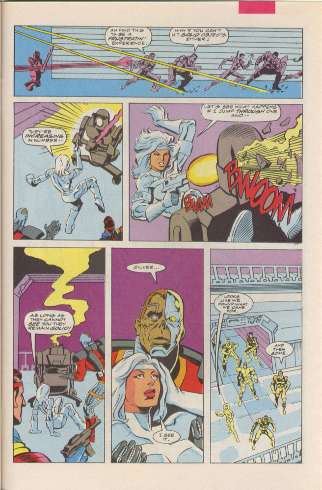 Read online Silver Sable and the Wild Pack comic -  Issue #6 - 20