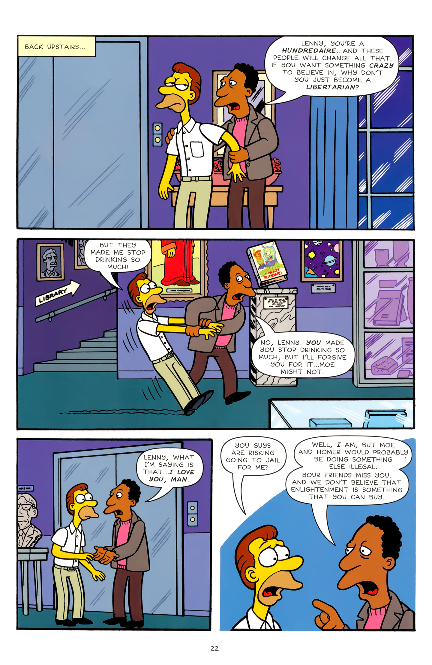 Read online Simpsons Comics comic -  Issue #179 - 18