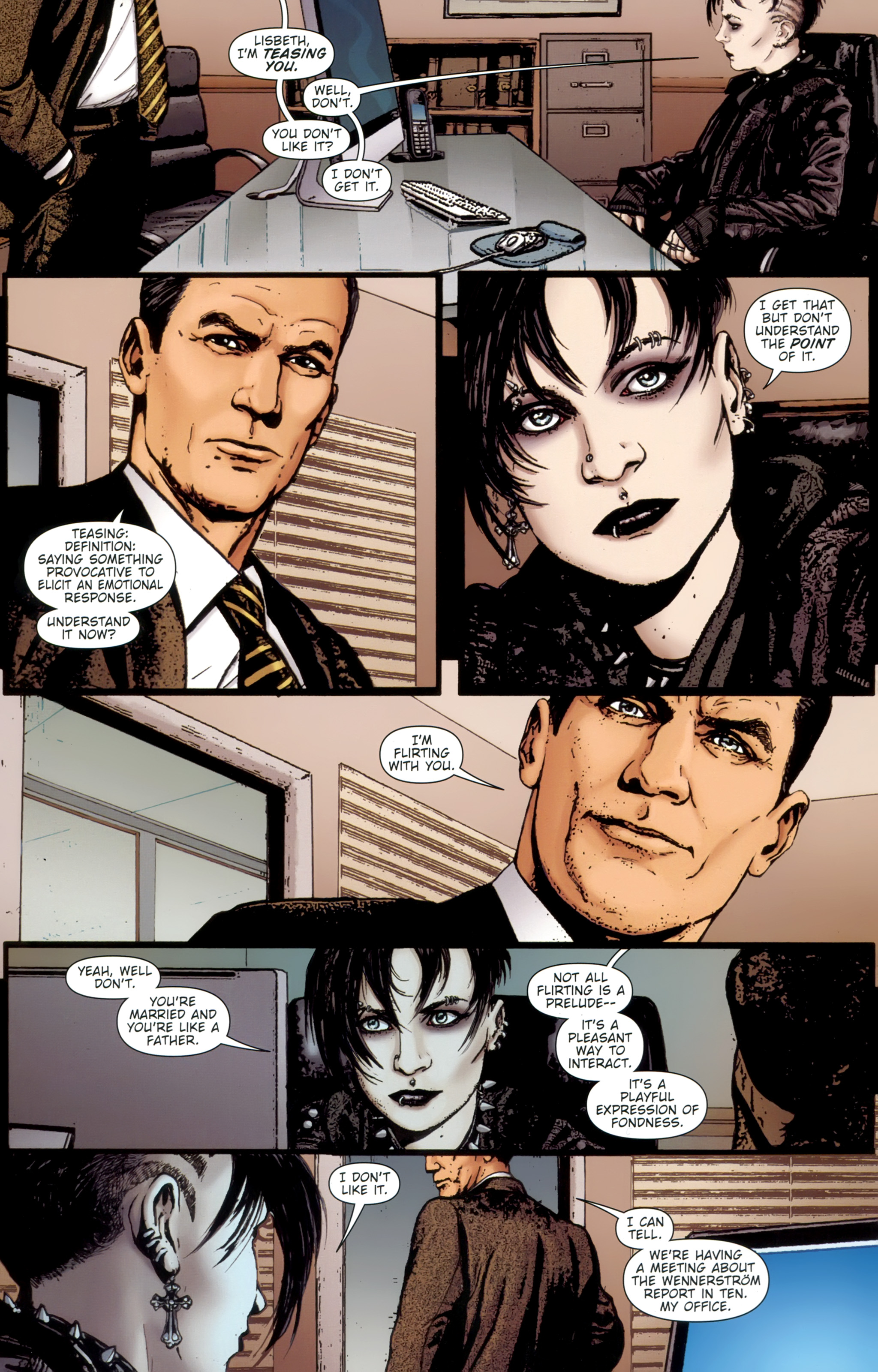 Read online The Girl With the Dragon Tattoo comic -  Issue # TPB 1 - 77