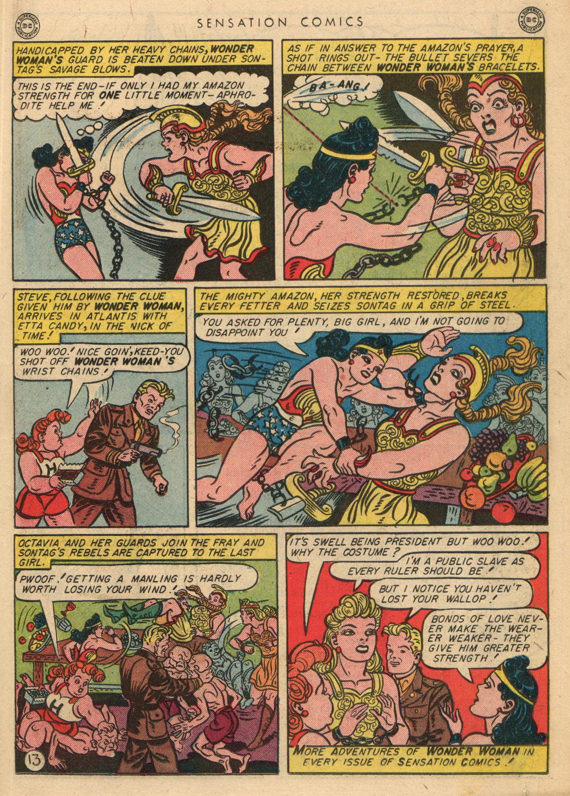 Read online Sensation (Mystery) Comics comic -  Issue #35 - 15