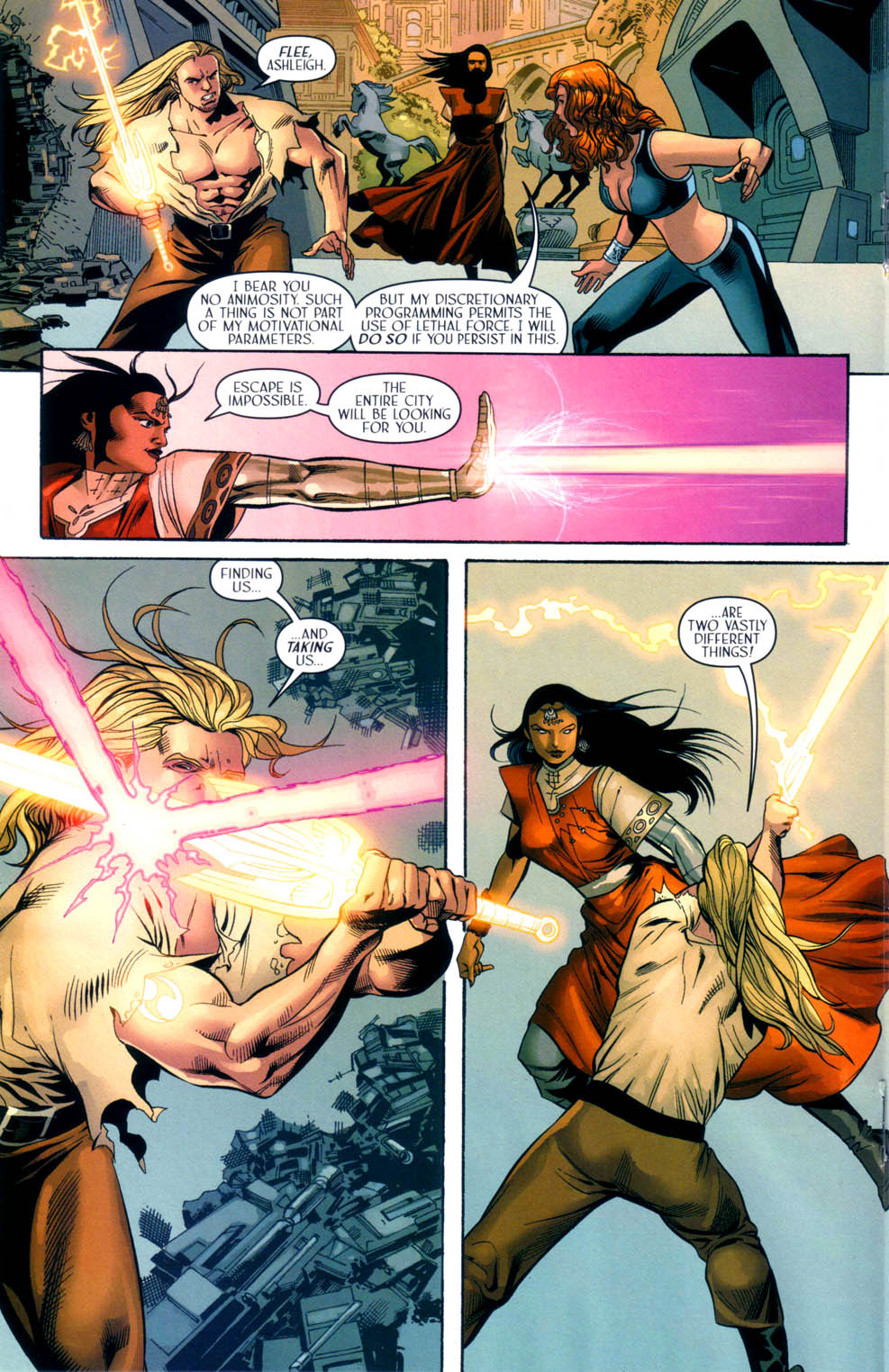 Read online Scion comic -  Issue #33 - 18