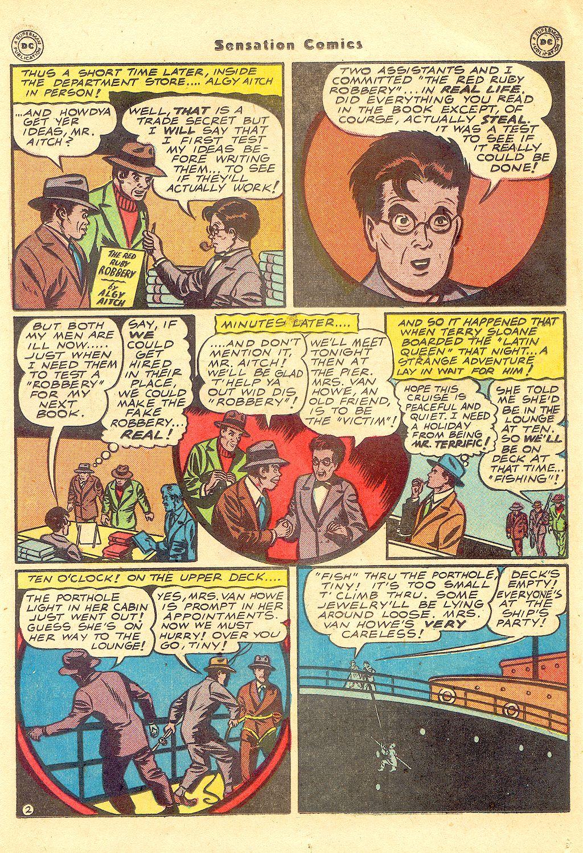 Read online Sensation (Mystery) Comics comic -  Issue #57 - 33