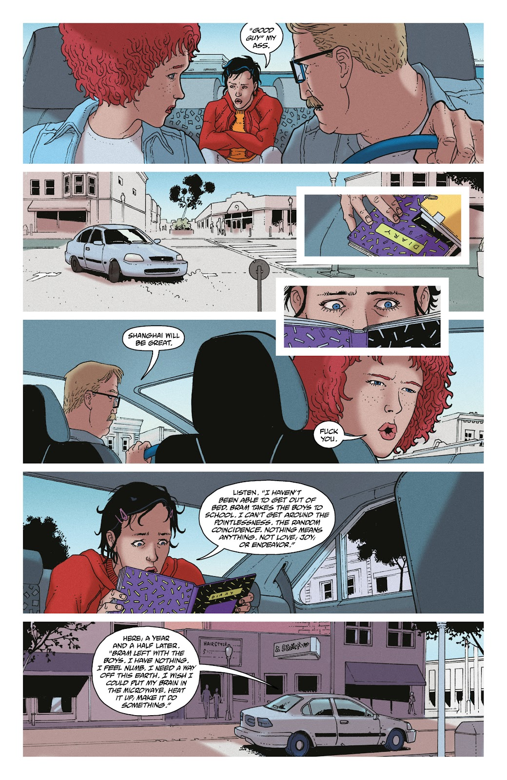 Read online She Could Fly comic -  Issue # _TPB - 90